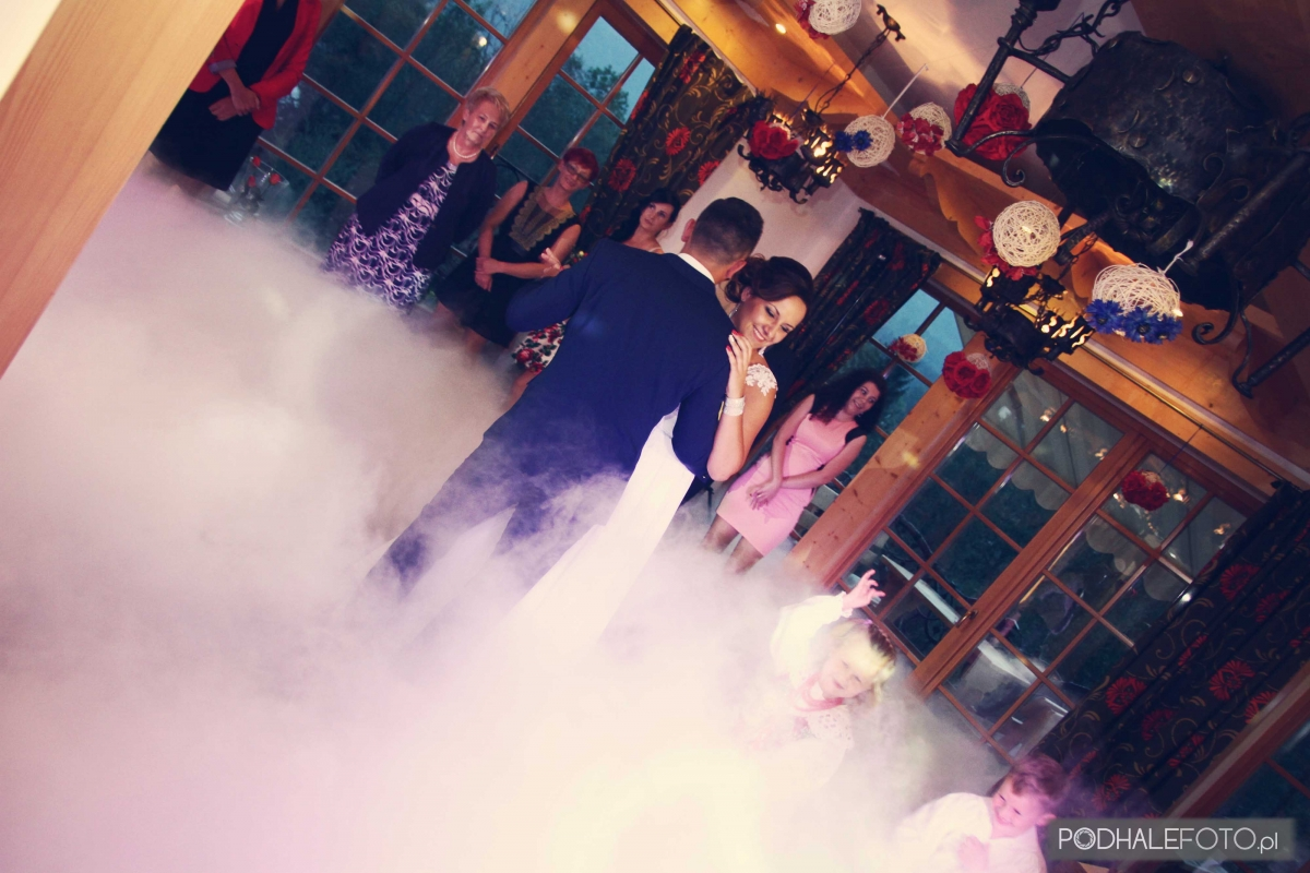 taniec w chmurach z dj'em Sromkiem